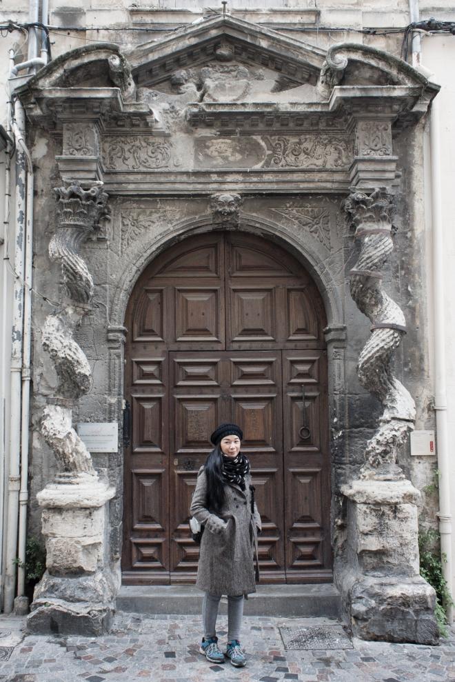 Salah satu pintu yang terunik yang ada di kota Arles